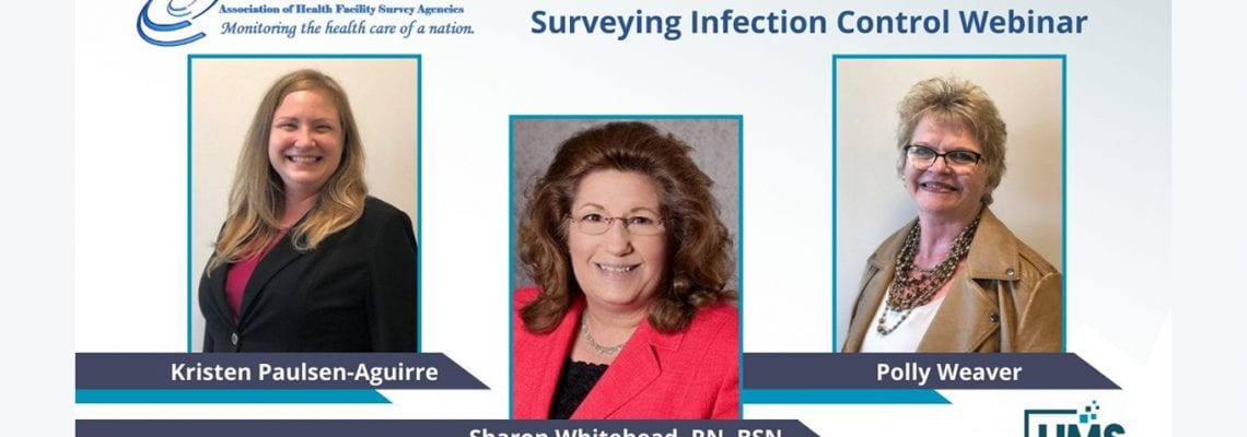 HMS Experts Lead AHFSA Webinar on Quality Improvement Strategies for Surveying Infection Control